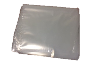 Stock Bags 375X500-125 WHITE BAGS.WRAPPED.25s HEAVY DUTY
