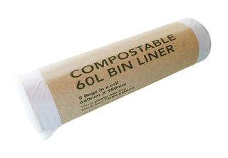 60L Bin Liners Compostable - EcoPack