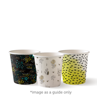 4oz Single Wall BioCup - Art Series - Biopak