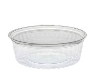 Sho-Bowl 900ml-24oz Flat Lid - UniPak