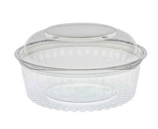 Sho-Bowl 900ml-24oz Dome Lid - UniPak