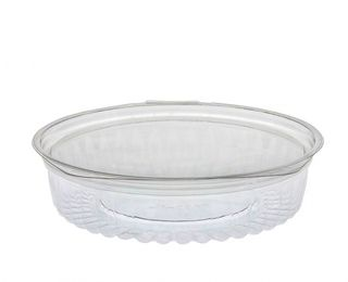 Sho-Bowl 550ml-20oz Flat Lid - UniPak
