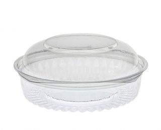 Sho-Bowl 550ml-20oz Dome Lid - UniPak