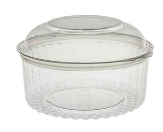 Sho-Bowl 1270ml-48oz Dome Lid - UniPak
