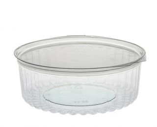 Sho-Bowl 1050ml-32oz Flat Lid - UniPak