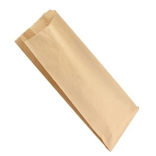 Double Bottle Brown Paper Bag - 165 + 65 x 395mm - UniPak