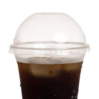 Dome Lid PLA for Cold Cups 360-700ml - Ecoware