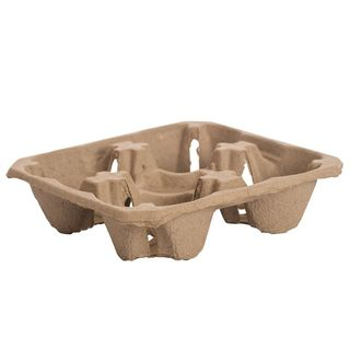 Cup Carry Tray 4 cups - Ecoware