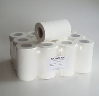 Mini Centrefeed Paper Towels 2ply - Coastal