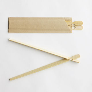 Bamboo Chopstix in Paper Sleeve 18cm - Epicure