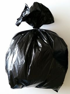 Black Rubbish Bag 350x290x900mm - Fortune