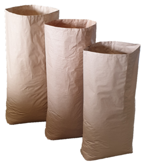 Multi-Wall Paper Bags 2ply 890x520+125 Wet Strength Kraft