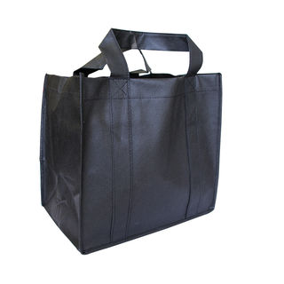 Small Grocer Bag - BLACK - Ecobags