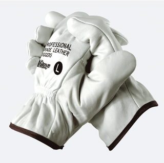 Leather Riggers Gloves Professional Grade - TGC