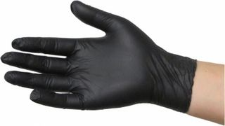 Nitrile PowderFree Gloves Small  - Black Dragon