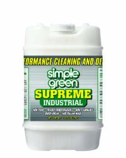SUPREME Heavy-Duty Cleaner & Degreaser Concentrate - Simple Green