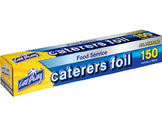 All Purpose Aluminium Caterers Foil 44cm - 150m - Castaway