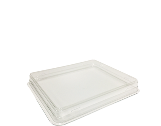 Fuzione Food Tray Lid, Small (suit Small Fuzione' Food Tray) Clear - Castaway