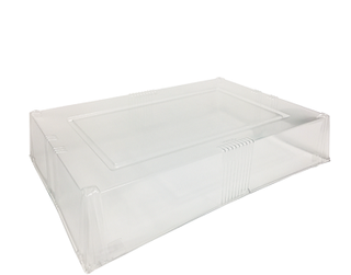 Vizione' Let's Do Lunch Platter Lid, Clear