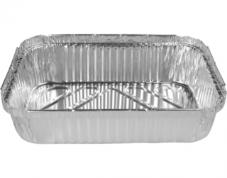 Extra Large Rectangular Catering Containers, Deep 3000 ml