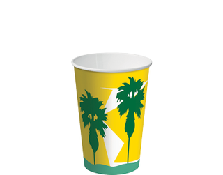 12oz Daintree' Paper Cold Cup - Castaway