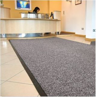 Entrance Mat Hydrasorb - Charcoal/Silver Cut to Length - Glomesh