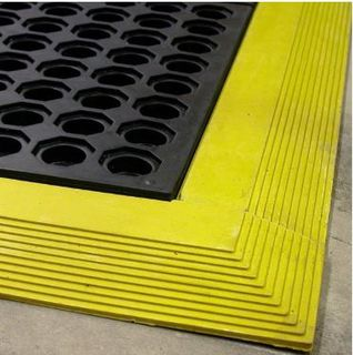 Cushion Foot Black - All Purpose Matting - Glomesh
