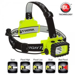 NIGHTSTICK IS DualLight Headlamp with Night Vision Red Light - Esko