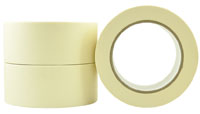 General Purpose Crepe Rubber Masking Tape 24mm - Pomona