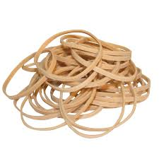 Brown Rubber Band No. 18