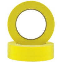 Yellow Masking Tape 36mm Automotive
