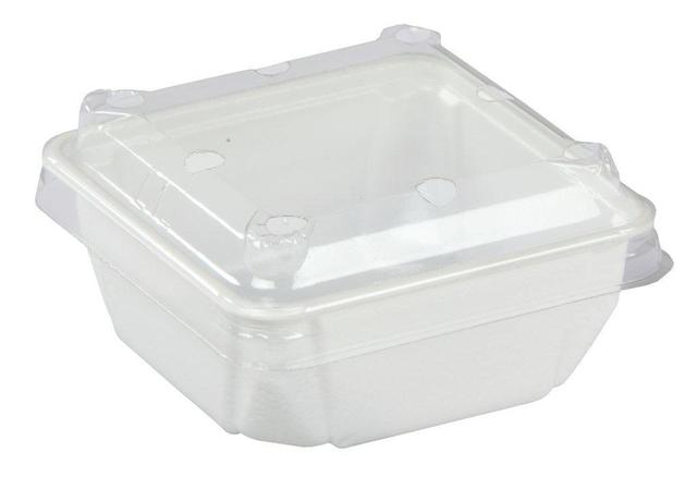 Punnet Clear P12 With Holes & Lid