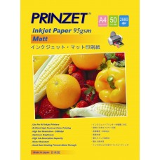 Inkjet Photo PRINZET A4  95gsm/105gsm Matte (50sheet/Pack)