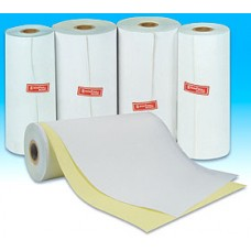 Paper Rolls 210 x 86 2Ply Telex Roll (White/YellowCopy) (10 Rolls/Box)