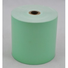Paper Rolls 80 x 80 1Ply APPLE GREEN Tinted Thermal Roll (Box of 24 Rolls)