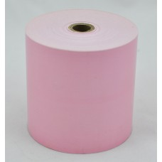 Paper Rolls 80 x 80 1Ply PINK Tinted Thermal Roll (Box of 24 Rolls)
