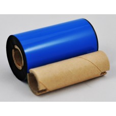 Thermal Transfer Ribbon 56.9mm x 74M x 1/2' Wax Face OUT - Core Length 56.9