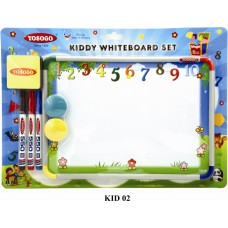 YOSOGO Kiddy Magnetic Whiteboard Set A4 - Numbers