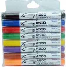 YOSOGO Whiteboard Marker BULLET Tip 8 Multi-Colours (8pcs/Hang-Sell Pack)