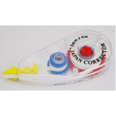 Correction Tape (Japan Corrector) Horizontal Application 5mm X 6M