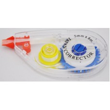 Correction Tape (Japan Corrector) Sideway Application 5mm X 8M