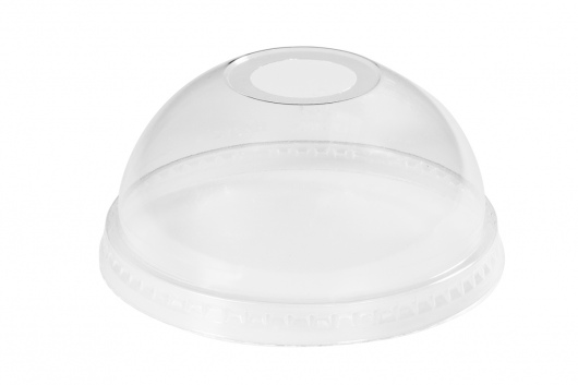 Dome Lid Clear Cup PLA - 95mm DIA Carton  1000  - Green Choice