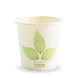 4oz Single Wall BioCup - leaf - Biopak