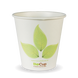 6oz Single Wall BioCup - leaf - Biopak