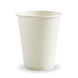 8oz Single Wall BioCup - white - Biopak