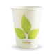12oz Single Wall BioCup - leaf - Biopak
