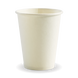 12oz Single Wall BioCup - white - Biopak