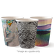 12oz Double Wall BioCup - Art series - Biopak