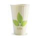 16oz Double Wall BioCup - leaf - Biopak