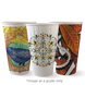 16oz Double Wall BioCup - Art series - Biopak